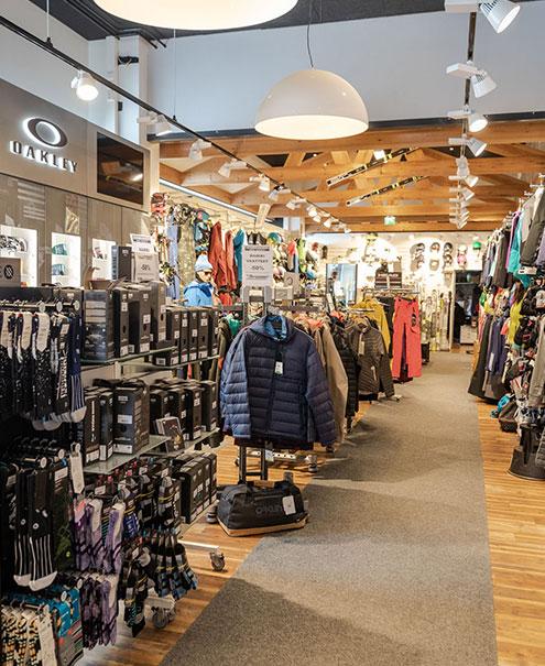 ski shop ruka